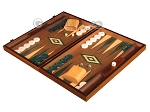 picture of Walnut Backgammon Set - Large - Green (3 of 12)