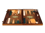 picture of Walnut Backgammon Set - Large - Green (4 of 12)