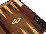 picture of Walnut Backgammon Set - Large - Green (9 of 12)