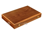 picture of Walnut Backgammon Set - Large - Green (10 of 12)