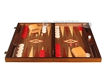 picture of Walnut Backgammon Set - Large - Red (4 of 12)