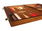 picture of Walnut Backgammon Set - Large - Red (5 of 12)
