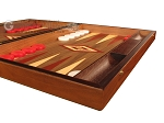picture of Walnut Backgammon Set - Large - Red (6 of 12)