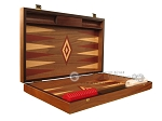 picture of Walnut Backgammon Set - Large - Red (7 of 12)