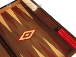 picture of Walnut Backgammon Set - Large - Red (9 of 12)