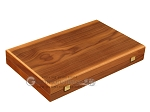 picture of Walnut Backgammon Set - Large - Red (10 of 12)