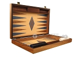 picture of Walnut and Oak Backgammon Set - Large - Blue (7 of 12)