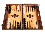 picture of Walnut and Oak Backgammon Set - Large - Black (1 of 12)