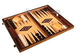 picture of Walnut and Oak Backgammon Set - Large - Black (2 of 12)