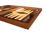 picture of Walnut and Oak Backgammon Set - Large - Black (6 of 12)