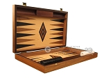 picture of Walnut and Oak Backgammon Set - Large - Black (7 of 12)