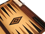 picture of Walnut and Oak Backgammon Set - Large - Black (9 of 12)