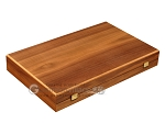 picture of Walnut and Oak Backgammon Set - Large - Black (10 of 12)