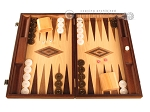 Walnut and Oak Backgammon Set - Large - Brown - Item: 2839