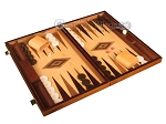 picture of Walnut and Oak Backgammon Set - Large - Brown (2 of 12)