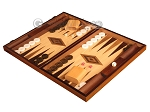 picture of Walnut and Oak Backgammon Set - Large - Brown (3 of 12)
