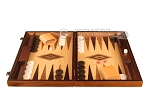 picture of Walnut and Oak Backgammon Set - Large - Brown (4 of 12)