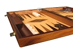 picture of Walnut and Oak Backgammon Set - Large - Brown (5 of 12)