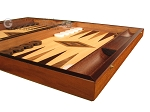 picture of Walnut and Oak Backgammon Set - Large - Brown (6 of 12)