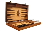 picture of Walnut and Oak Backgammon Set - Large - Brown (7 of 12)