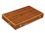 picture of Walnut and Oak Backgammon Set - Large - Green (10 of 12)