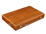 picture of Walnut and Oak Backgammon Set - Large - Red (10 of 12)