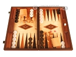 Lupo Root Backgammon Set - Large - Lupo Field - Item: 2909