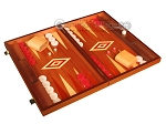 picture of Mahogany Backgammon Set - Large - Red (2 of 12)