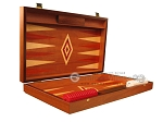 picture of Mahogany Backgammon Set - Large - Red (7 of 12)