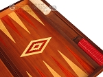 picture of Mahogany Backgammon Set - Large - Red (9 of 12)