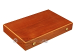 picture of Mahogany Backgammon Set - Large - Red (10 of 12)