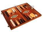 picture of Mahogany Backgammon Set - Large - Black (2 of 12)