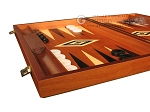picture of Mahogany Backgammon Set - Large - Black (5 of 12)
