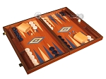 picture of Mahogany Backgammon Set - Large - Blue (2 of 12)