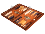 picture of Mahogany Backgammon Set - Large - Blue (3 of 12)