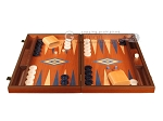 picture of Mahogany Backgammon Set - Large - Blue (4 of 12)