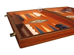 picture of Mahogany Backgammon Set - Large - Blue (5 of 12)