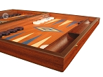 picture of Mahogany Backgammon Set - Large - Blue (6 of 12)