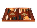 picture of Mahogany Backgammon Set - Large - Green (4 of 12)