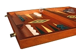 picture of Mahogany Backgammon Set - Large - Green (5 of 12)