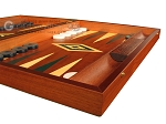 picture of Mahogany Backgammon Set - Large - Green (6 of 12)