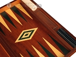 picture of Mahogany Backgammon Set - Large - Green (9 of 12)