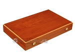 picture of Mahogany Backgammon Set - Large - Green (10 of 12)