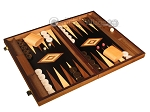 picture of Ebony Zebrano Backgammon Set - Large - Black Field (2 of 12)