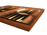 picture of Ebony Zebrano Backgammon Set - Large - Black Field (6 of 12)