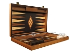 picture of Ebony Zebrano Backgammon Set - Large - Black Field (7 of 12)