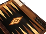 picture of Ebony Zebrano Backgammon Set - Large - Black Field (9 of 12)