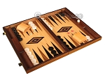 picture of Ebony Zebrano Backgammon Set - Large - Oak Field (2 of 12)