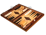 picture of Ebony Zebrano Backgammon Set - Large - Oak Field (3 of 12)