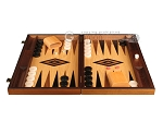 picture of Ebony Zebrano Backgammon Set - Large - Oak Field (4 of 12)